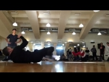 Bboy Kujo (Only got 5 Scorpion Air Flares at practice)