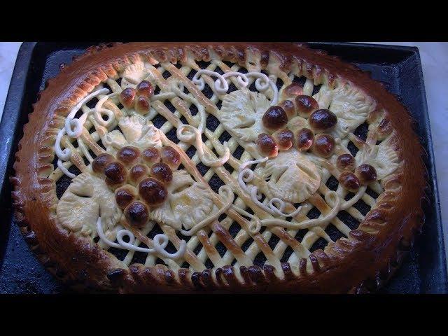 Дрожжевой пирог с маком и изюмом - Выпечка и кулинария.Простые Вкусные Рецепты