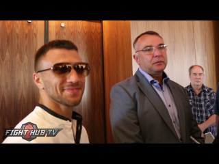 Vasyl Lomachenko tells Guillermo Rigondeaux