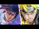 Аниме клип. Naruto vs Sasuke Музыка форсаж 0
