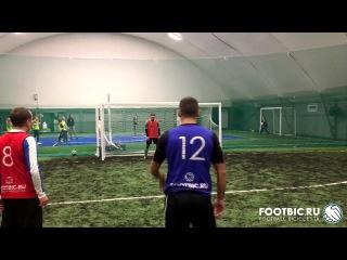 FOOTBIC.RU. Видеообзор 16.01.2017 (Метро Марьина Роща). Любительский футбол