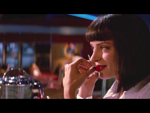 Неловкое молчание — «Криминальное чтиво» (1994) сцена 412 QFHD