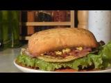 Бутерброд с беконом и жареным сыром (рецепты)