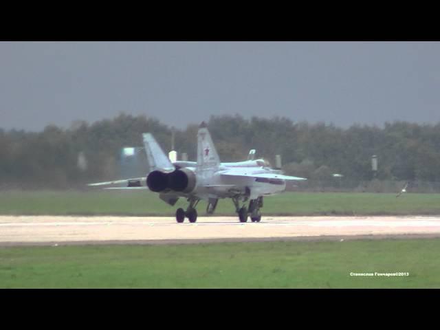 МиГ 31 Запуск и взлет Полностью для ценителей в FULL HD 1080 02 09 2013