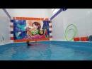 Учимся плавать в бассейне в 2 года с Надей Learn to swim in the pool in 2 years