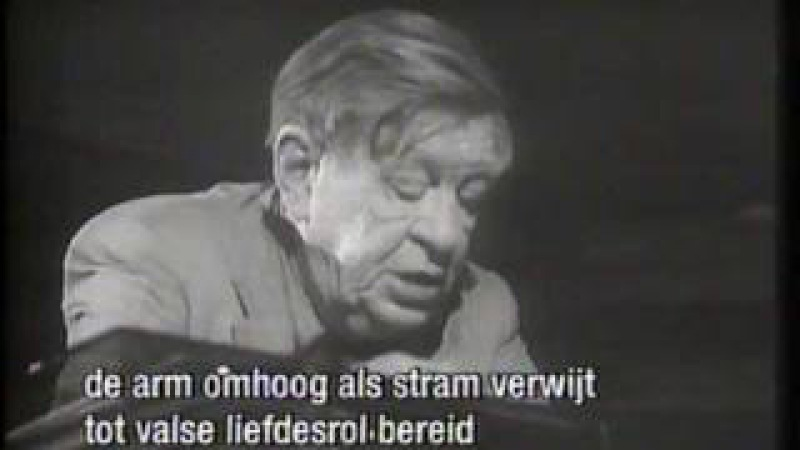 Dode Dichters Almanak 24 Now the leaves are falling fast van W.H. Auden