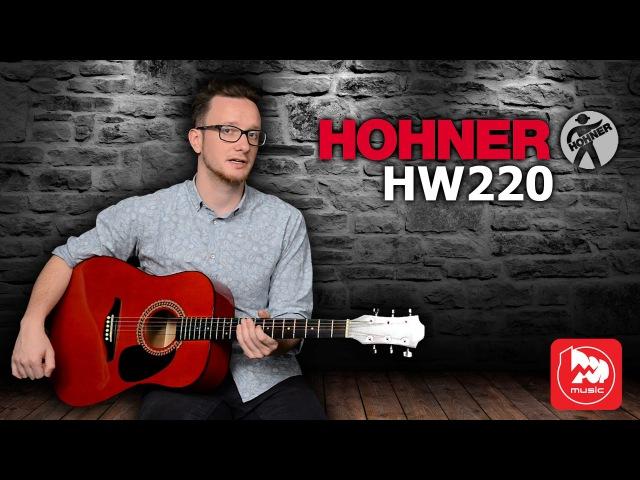 HOHNER HW220 - как звучит акустическая гитара Хонер