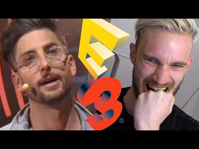 E3 AKWARD AND CRINGY MOMENTS 2017