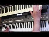 Андрей Державин Не плачь Алиса на синтезаторе Yamaha psr s670 Korg x50