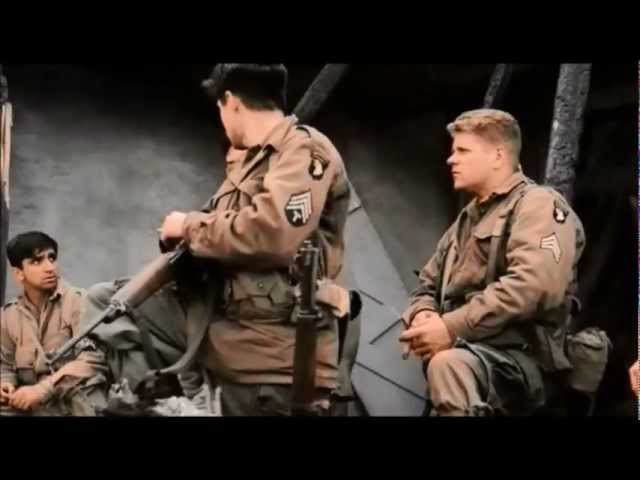 Band of Brothers E09 Why We Fight - Beethoven Cisz-moll vonósnégyes Op. 131
