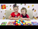 Лина и Крис Украшают яйца к Пасхе Lina and Kris decorate EGGs for Easter