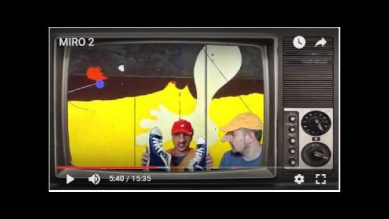 Хуан Миро - альтернативная история солнечного каталонца от Носы TV