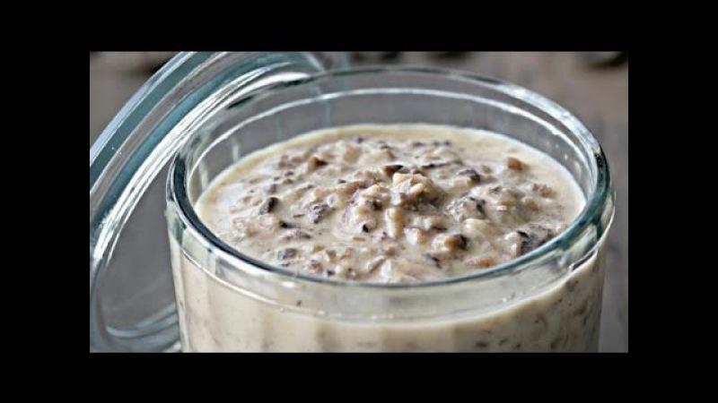 Соус из сухих грибов на грибном бульоне рецепт от шеф-повара Илья Лазерсон Обед безбрачия