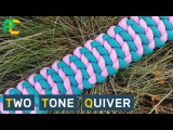 Two Tone Quiver Paracord Bracelet