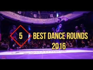 TOP 5 | Best Dance Rounds of 2016 (Les Twins,Skitzo,Bluprint,Paradox,Waydi)
