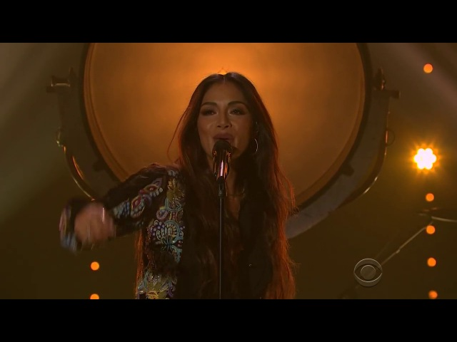 Nicole Scherzinger Never Give Up The Late Late Show With James Corden