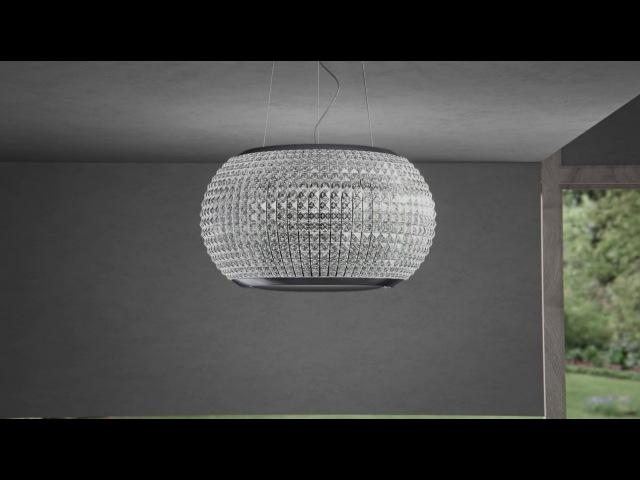 INTERSTELLAR suspended cooker hood