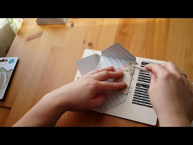 Обзор доски для создания конвертов и открыток в комплекте с дыроколом угла Рукоделие