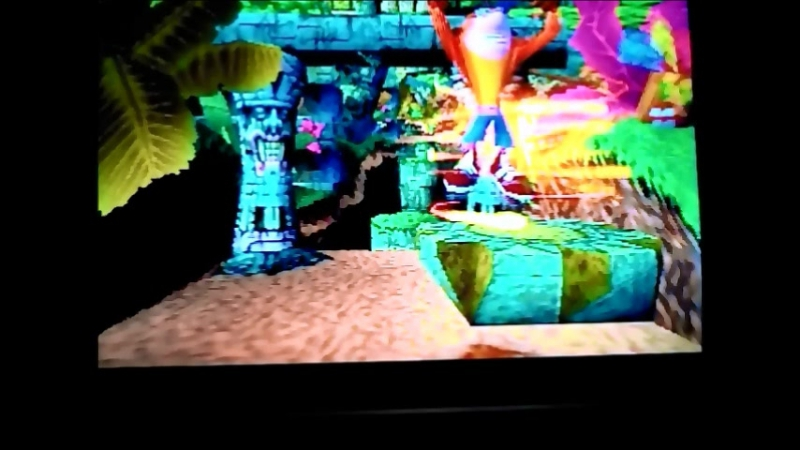 Crash Bandicoot 1(NTSC-U).УровеньBoulders.Гем.
