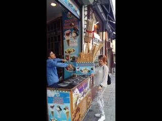 шоу-мороденное....Стамбул