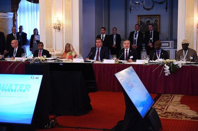 Эмомали Рахмон выступил на заседании Панели высокого уровня по водным вопросам