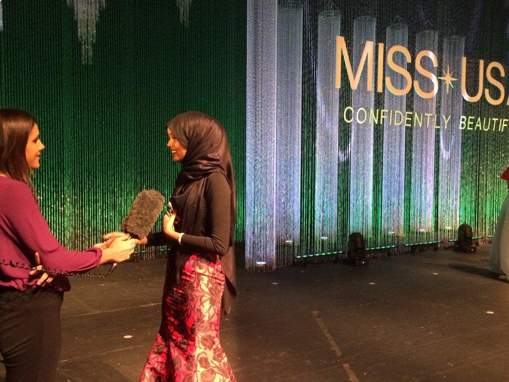 Мусульманка бросила вызов, выступив на конкурсе красоты в США
