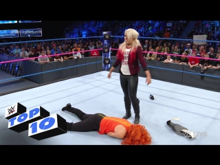 Top 10 SmackDown LIVE moments_ WWE Top 10, Oct. 25, 2016