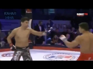 Башкир Венер Галиев vs Марсио Андраде. НАКАУТ 03.12.2016 ММА бои без правил