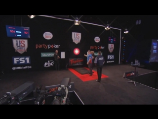 Gary Anderson vs Daryl Gurney (PDC US Darts Masters 2017 / Semi Final)