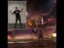 Джеймс Ган, танец малыша Грута 2