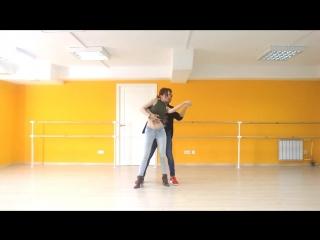 Max y Daria. Bachata. Ekaterinburg