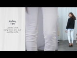 The Styling Studio - How to Wear White Coated Jeans