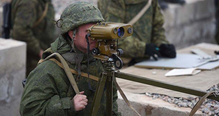 Российские военные приняли участие в учениях