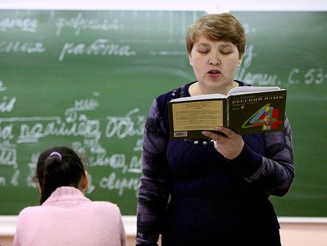 Учителя русского языка скоро прилетят из России в Таджикистан