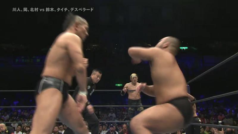 Hirai Kawato, Katsuya Kitamura, Tomoyuki Oka vs. Minoru Suzuki, El Desperado, Taichi (NJPW - G1 CLIMAX 27 - Day 17)
