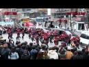 Флешмоб танцующих Дэдпулов