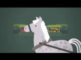 Лошади Петра Клодта - мультфильм о Петербурге