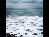 Наше море - зимнее абхазское