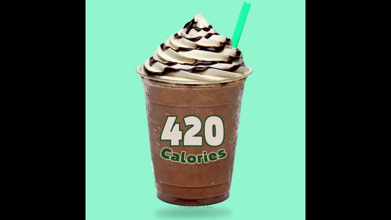 если бы вместо названий была калорийность
