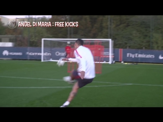 ANGEL DI MARIA - Bulls eye X4 - FREE KICKS