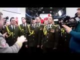 Хор МВД исполняет Get Lucky радио ENRJ