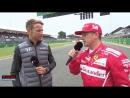 F1 2017. 10. Гран-При Великобритании, интервью после квалификации