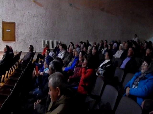 Линар Халилов и зрители на концерте Газима Ильясова