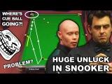 UNBELIEVABLE UNLUCK !!! RESPOT BLACK Ronnie O'Sullivan v Gary Wilson World Championship 2017