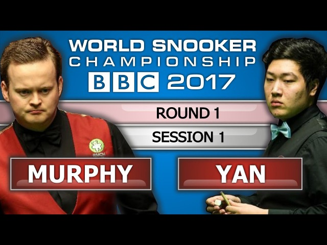 Shaun Murphy v Yan Bingtao 颜丙涛 ᴴᴰ World Snooker Championship 2017 Session 1