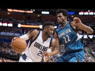Обзор НБА Даллас Маверикс – Миннесота Тимбервулвз 16.01.17