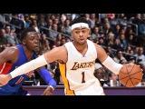 Detroit Pistons vs LA Lakers - Full Game Highlights | January 15, 2017 | 2016-17 NBA Season