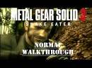 Metal Gear Solid 3 Stealth Walkthrough No Commentary
