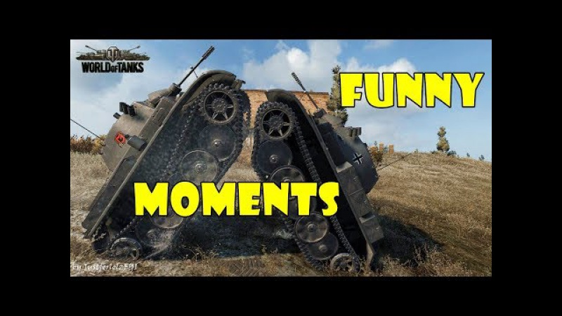 World of Tanks - Funny Moments | Week 2 August 2017