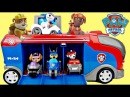 PAW PATROL Mission Cruiser, Pup Card Racer Chase, Robo Dog, Skye, Ryder Complete Full PlaySet / TUYC